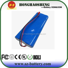 Li-ion brand cell battery pack 7.4v 7800mah 2s3p 18650 battery