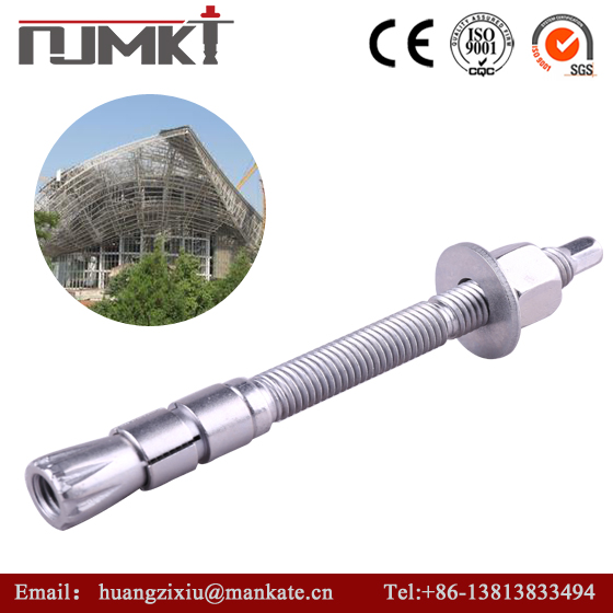 NJMKT-- Factory price Product effect is good Corrosion resistance carbon steel hot dip galvanized double head anchor bolt