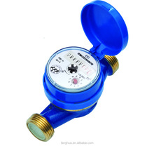 High quality portable single jet water flow meter