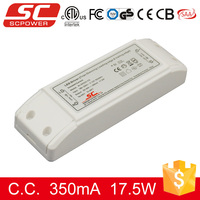 KI-50350-TD triac dimmable constant current 17W 350mA LED Driver