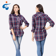 Different kinds of factory supplier high end rayon long sleeve clothing women top