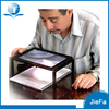 Plastic Frame Large Foldable LED Reading Lighted Stand Magnifier