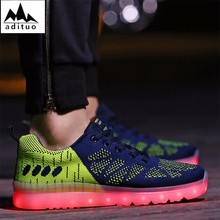 New Style Made In China Fashion Adults Led Shoes
