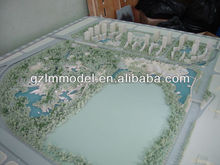 Miniature Building Layout Model / HO OO N G Z O Architectural Scale Model