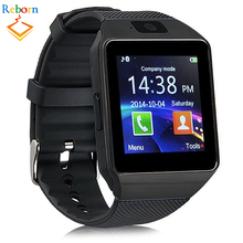 2017 Wholesale 3G Wifi Sim Card Mobile Dz09 Smart Android Watch Phone