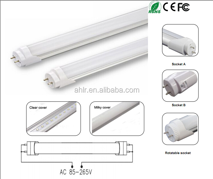 T8 Led tube light 3ft 9w with magnetic ballast without starter