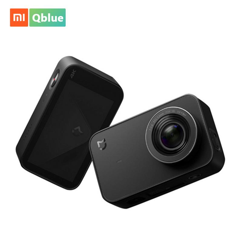Xiaomi Mijia Mini Esporte Action Camera 4 K Gravação de Vídeo Wi-fi Câmeras digitais 145 Wide Angle Controle App 2.4 Polegada Toque tela - ANKUX Tech Co., Ltd