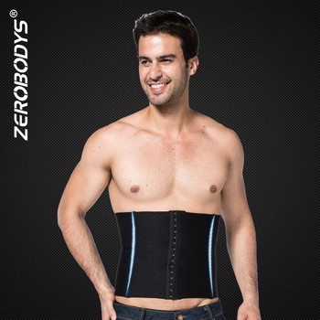 375 BK ZEROBODYS Back Support Fat Men Belly Panty Girdle
