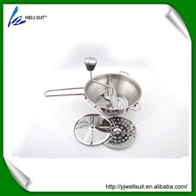 Food grade vegetable Cutting Tool food Masher & Food Mill