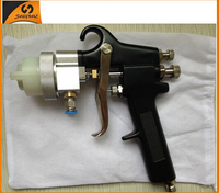 Hot rose gold Ningbo new type best double nozzle spray gun water chrome paint chrome auto spray paint