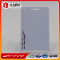 Anti-theft rfid blocking card for credit card/bank card