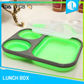 New production school portable 3 compartment bento box