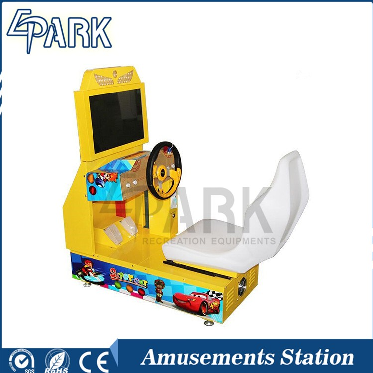 Mini outrun kids driving game arcade car racing games for sale