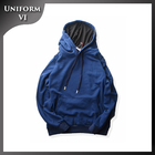 wholesale 100% cotton plain streetwear hoodie with the custom printing logo