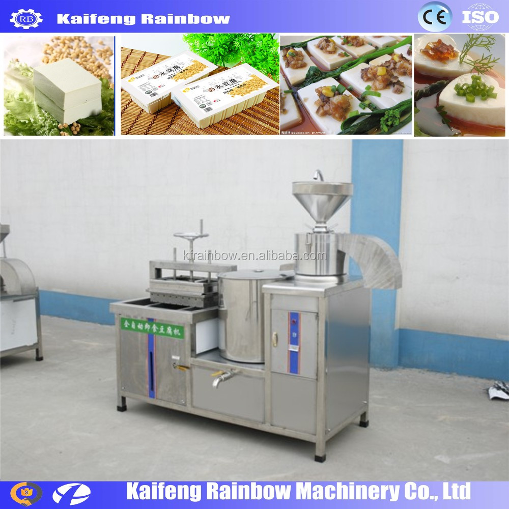 Made in China High Capacity bean curd make machine soya bean machine/soya bean curd machine