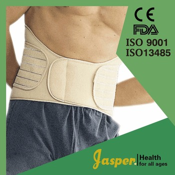 Medical Nylon Pain Relief Back Support with Dual Adjustable Straps