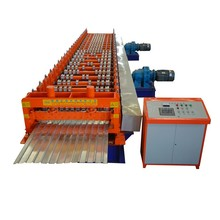 reliable in performance 45#steel colored stone coated steel roof tile making roll forming profil machines
