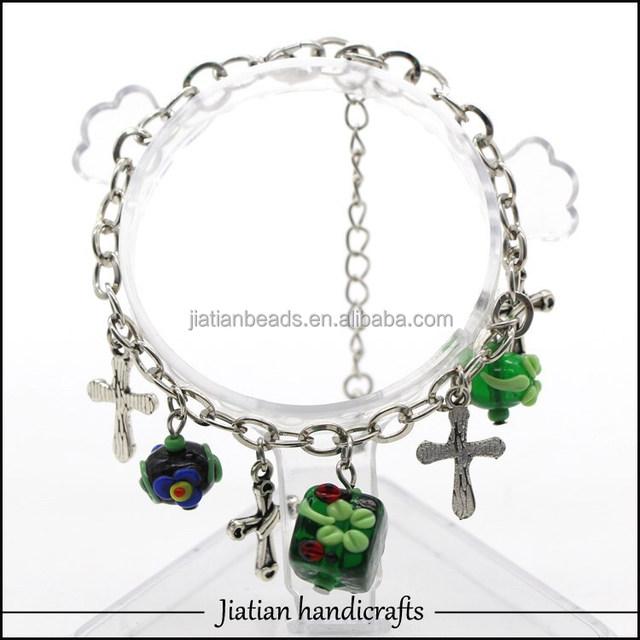 New designed Glass bead bracelet for Easter