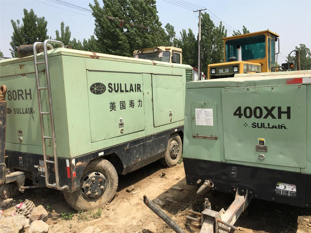 Used XRVS976 screw mobile air compressor used condition XRVS1050 XRHS486 XRHS1096 portable air compressor