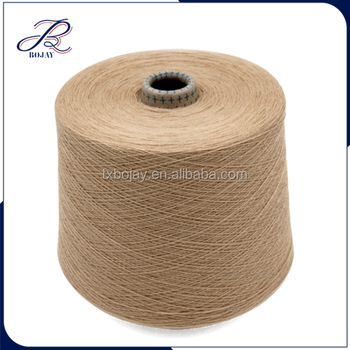 2017 Hot Sale Combed Cotton Merino Wool Blended Yarn 28NM/2 Dyed on Cone Yarn for Knitting and Weaving