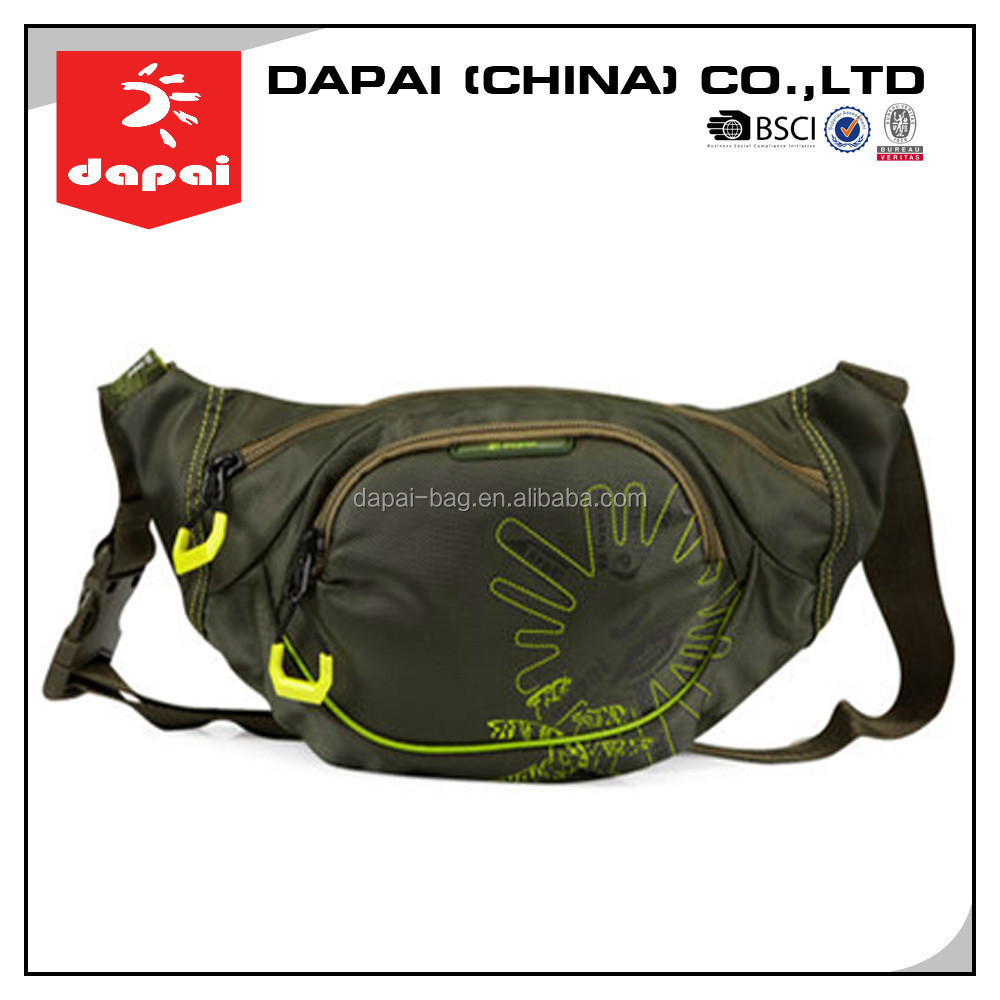 stock bag ! Quanzhou dapai waterproof bum bags and fanny packs, new style sports waist bag