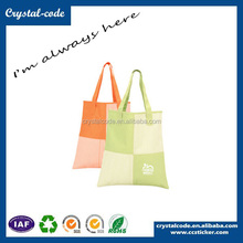 Fashionable Various Recycled Polyester Folding Shopping Fabric Bag