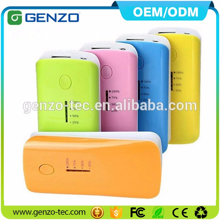 Wholesale High Quality Waterproof 5000mAh Solar Power Bank with Led Light