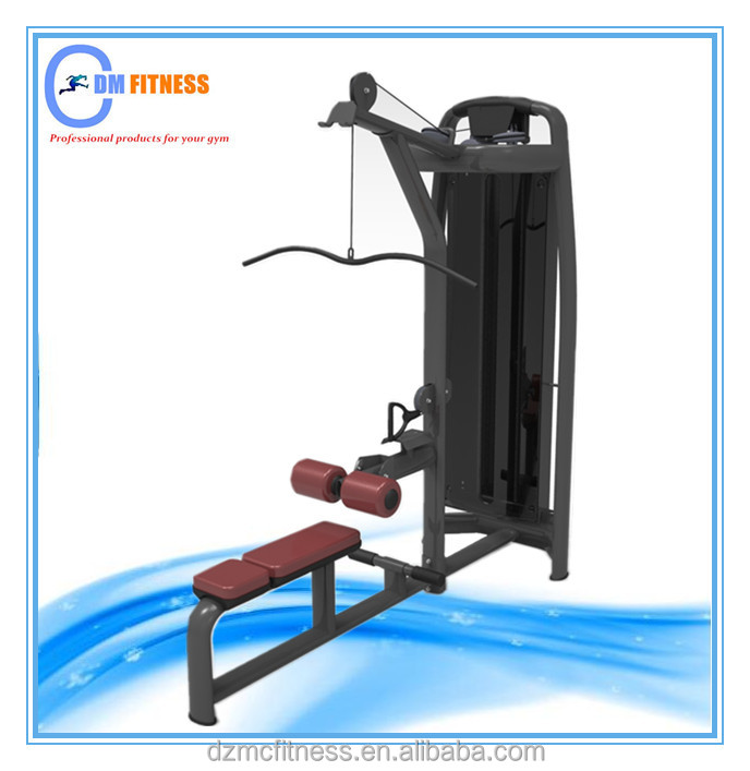 Sold various countries fitness equipment gym Lat Pulldown&Low Row/Bodybuilding instrument