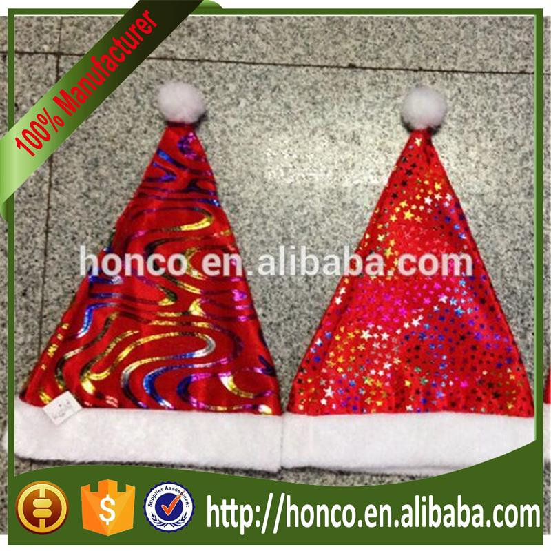 Alibaba hot selling dancing christmas hats with high quality Christmas