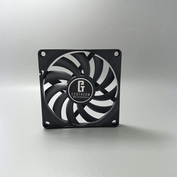 promotion DC electric Micro fan 12v 80x80x10mm from Shenzhen manufacturer