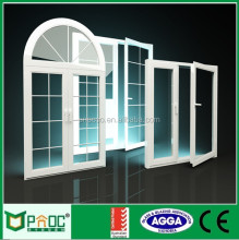 Aluminium Frame Profile Mill Finish Casement Window with Good Price PNOC120129LS