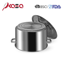 Restaurant stainless steel large hot cooking stock pot for sale/milk pot/cooking pot set