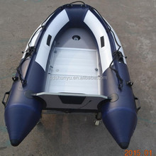 CE certificate korea PVC material durable folding inflatable fishing boat