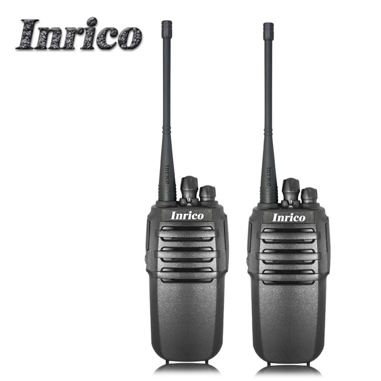 Inrico 8W VHF UHF Dual Band Analogue HandyTalky Two Way Portable Radio