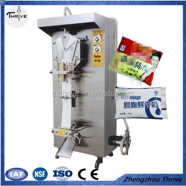 Most Popular Automatic liquid packing machine/fruit juice packing machine made by stainless steel