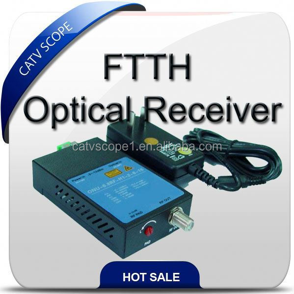 CSP1010 One output FTTH optic receiver,mini optic node