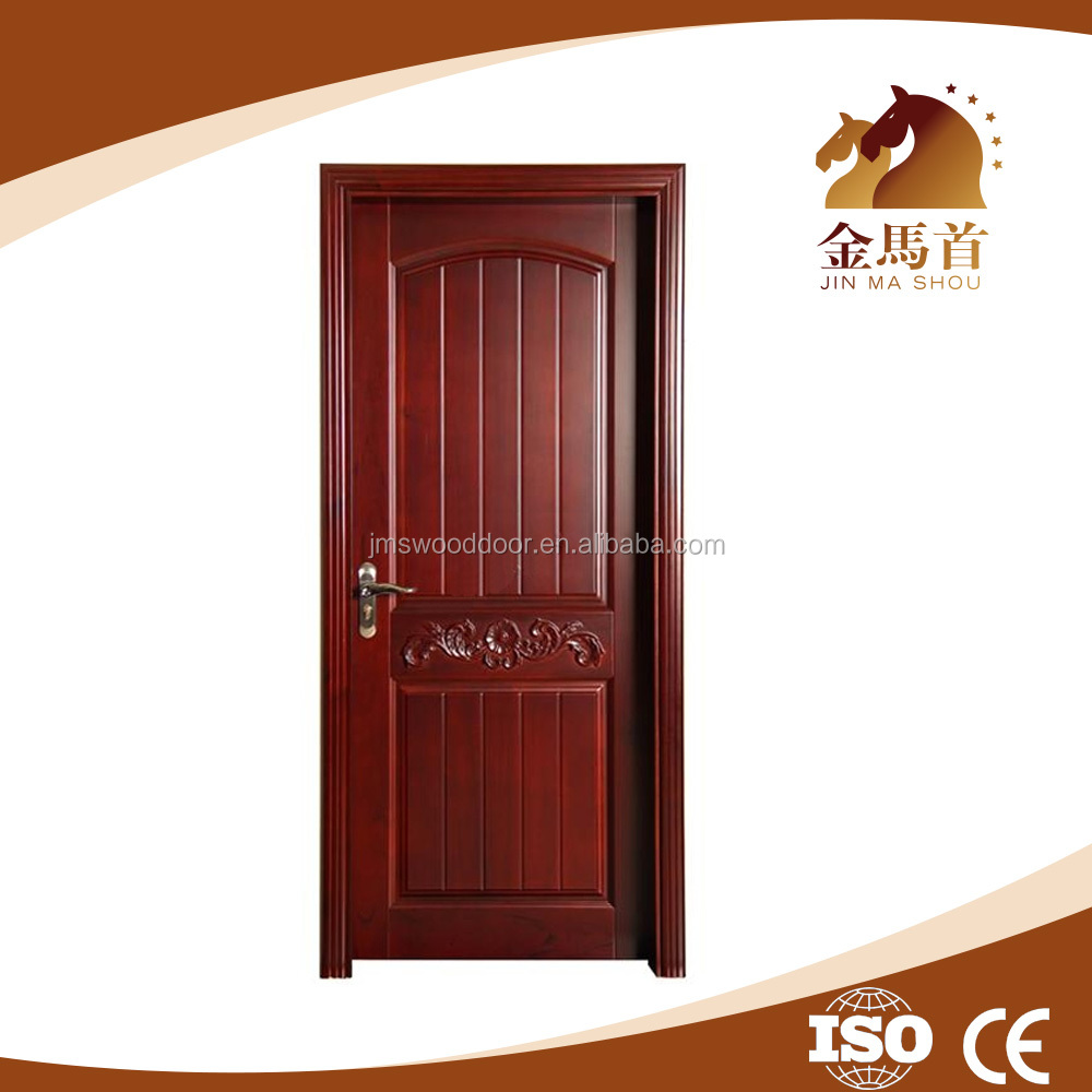 Best Eco-friendly wooden MDF door design, pvc coated school door design