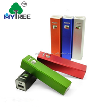 New Electronic Promotion Gifts 2600mah Mini Mobile Slim Power Bank For Smart Mobile Phone