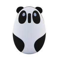 Promotion gift mouse cute Panda shaped usb optical gaming mouse wireless