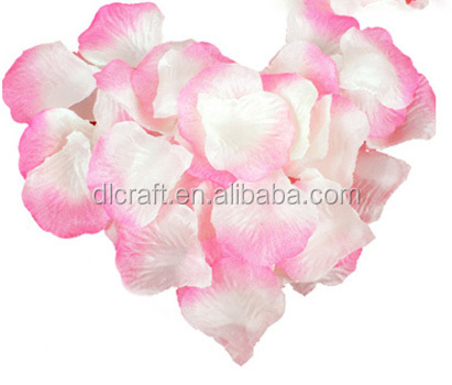 Free Artificial Flowers Silk Rose Petals for Wedding Party Decoration