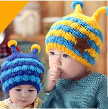 2015 Winter Warm Wool Baby Caps Beanie Ear Muff Hat