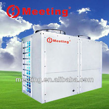 2012 Solar Air Source Heating Heatpump China CE High COP Air to air water double Source Floor heating heater solar Heat Pump