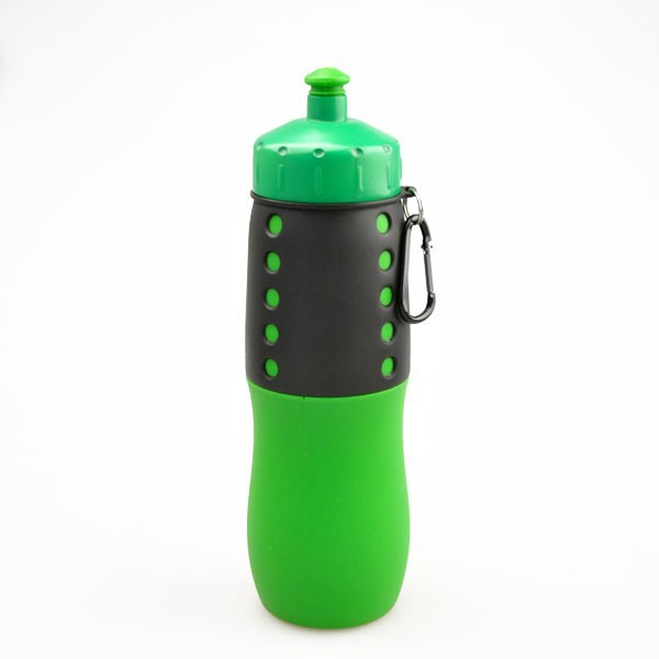 Silicone water bottle, silicone bottle sleeve,silicone foldable water bottle