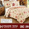 4pcs comforter set 1 patchwork quilt 2 pillowcases 100%cotton fabric