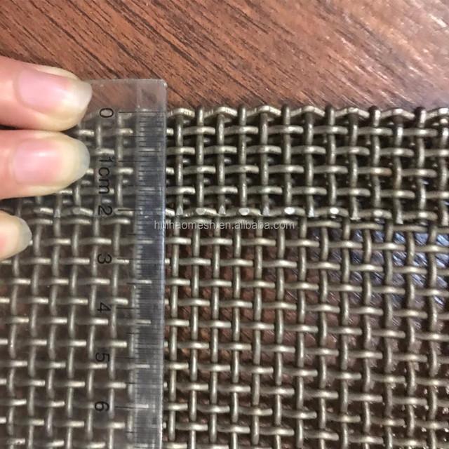 plain weave conveyor belt mesh for food industry