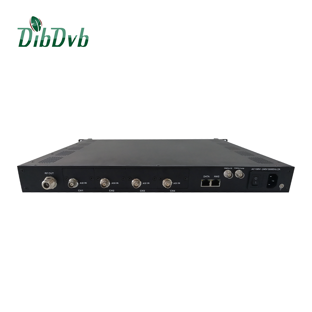 8PSK/QPSK satellite DVB-S2 modulation IP modulator