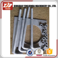 Hot Dipped Galvanized M20 Class 8.8 Foundation Anchor Bolt