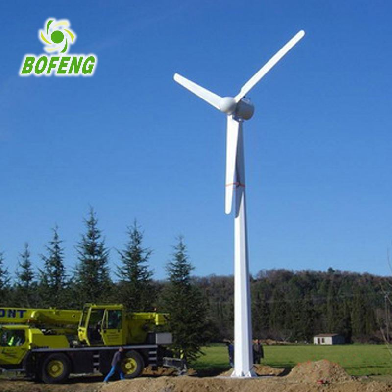 Househole used residential 20kw hawt wind power generator steam turbine for sale