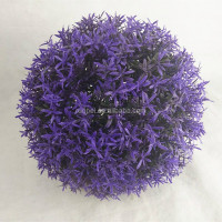 Purple Color 25cm Artificial Grass Ball