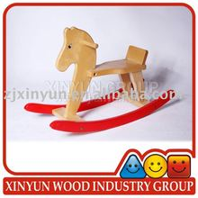 2016 Newest Children Wooden Horse Toys Wooden Rocking Horse Toy